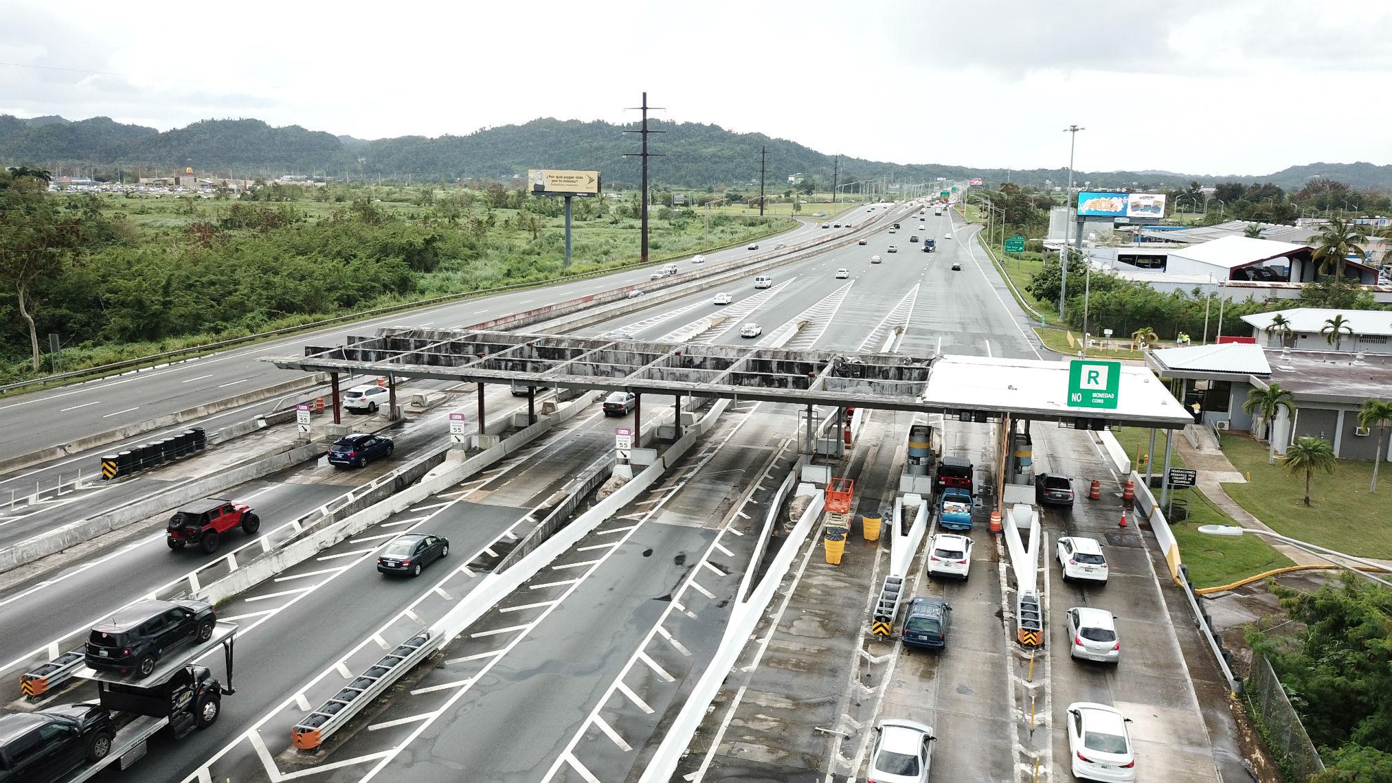 Sin cambio significativo tarifas de peaje en las autopistas PR-22 y PR-5 para el 96% de los usuarios en el 2020