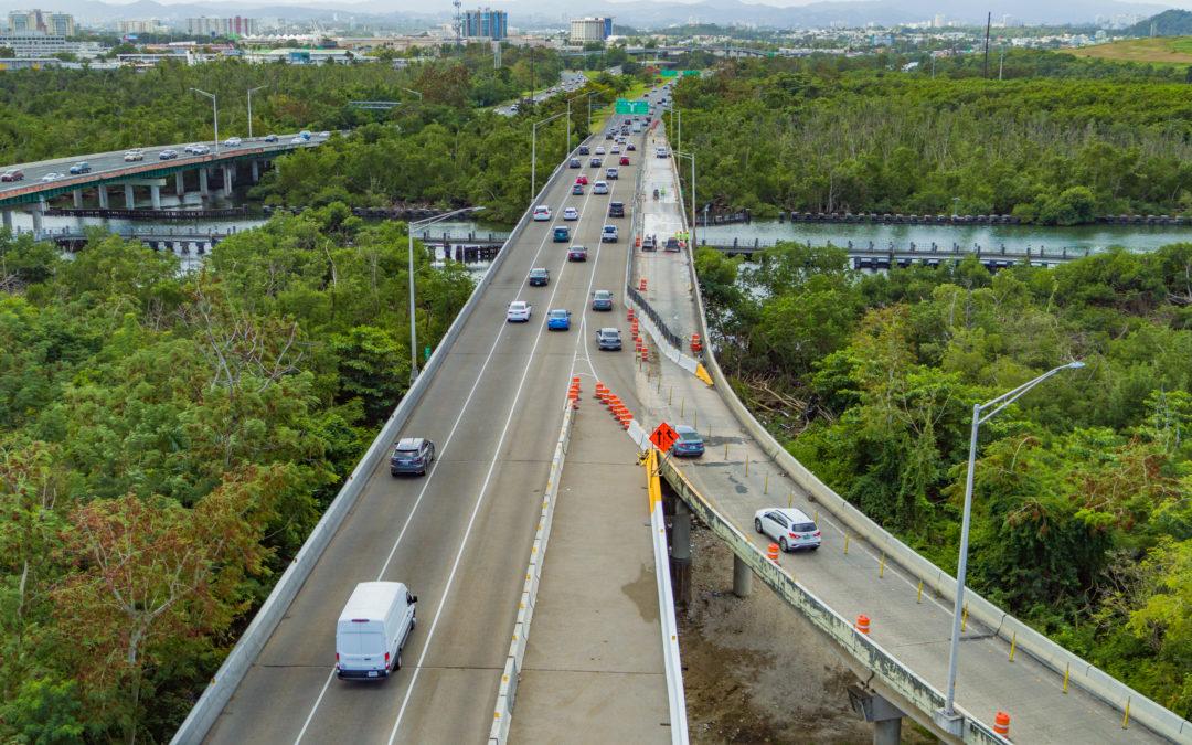 Se abre este lunes la rampa de la PR-1 de Hato Rey hacia el puente sobre el Caño Martín Peña