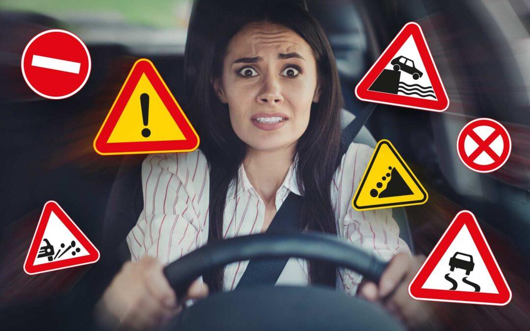 Cómo reaccionar ante diferentes situaciones de riesgo mientras conduces tu vehículo