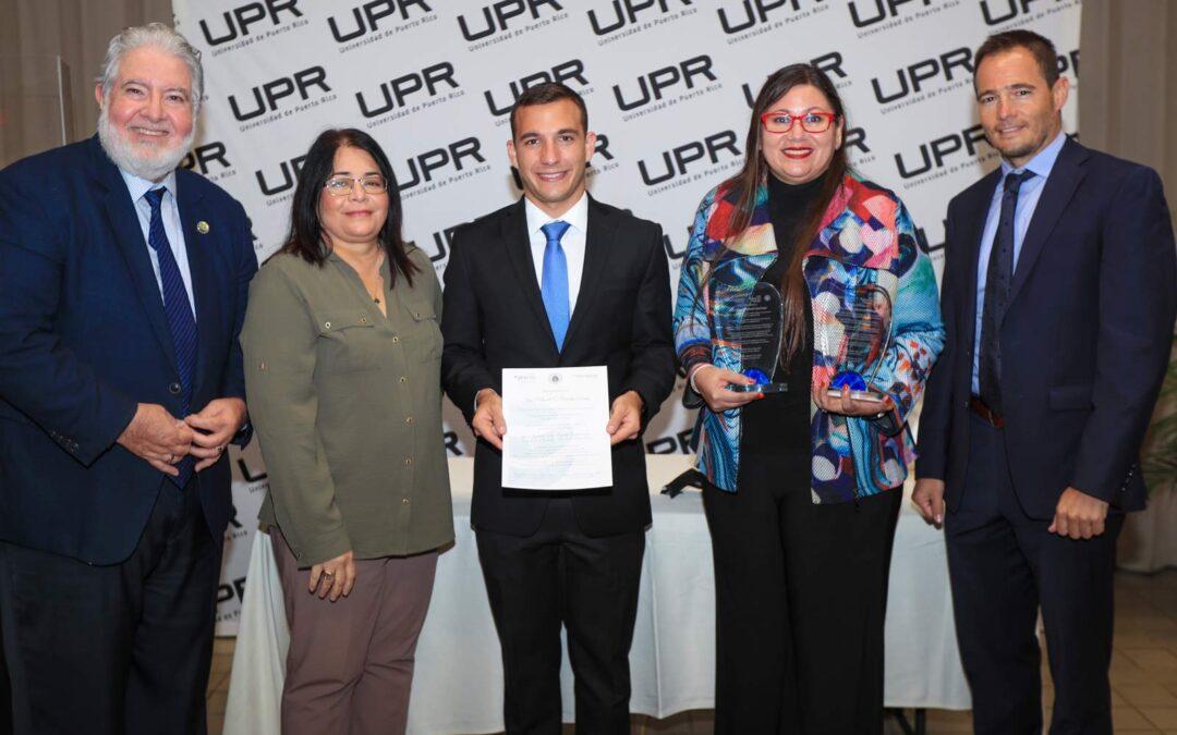 Otorgan 8vo premio Cátedra Abertis a doctora graduada de UPR Mayagüez